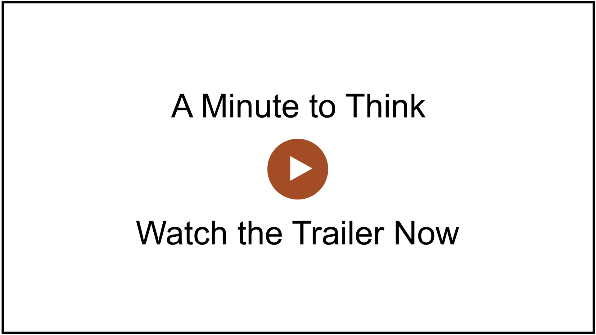 Juliet Funt A Minute To Think Trailer